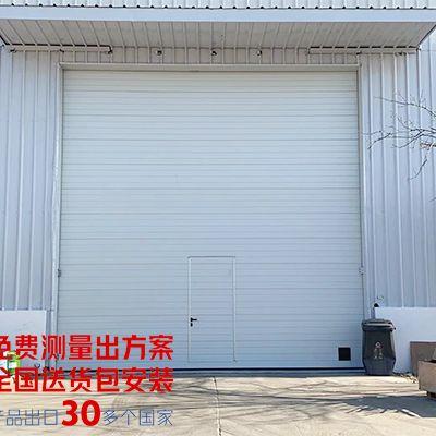 某自动化设备厂房安装的工业提升门安装项目完成验收