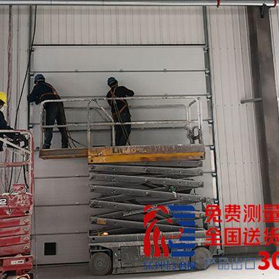 上海机械厂抗风工业提升门