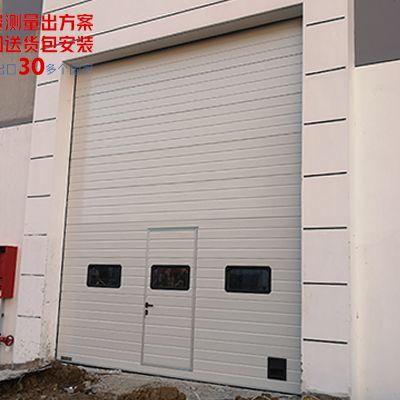 自动化仓库外部工业提升门
