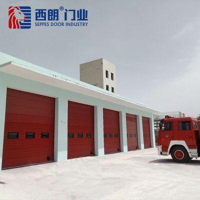 青海消防车库工业提升门案例