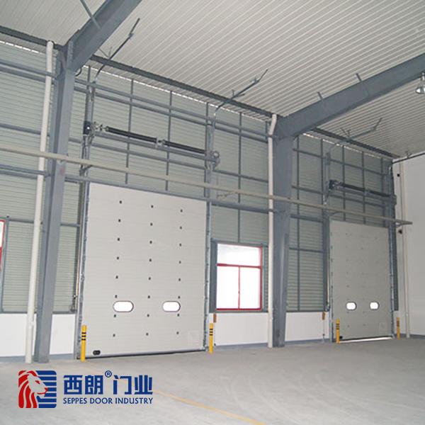 上海物流仓库转弯提升门