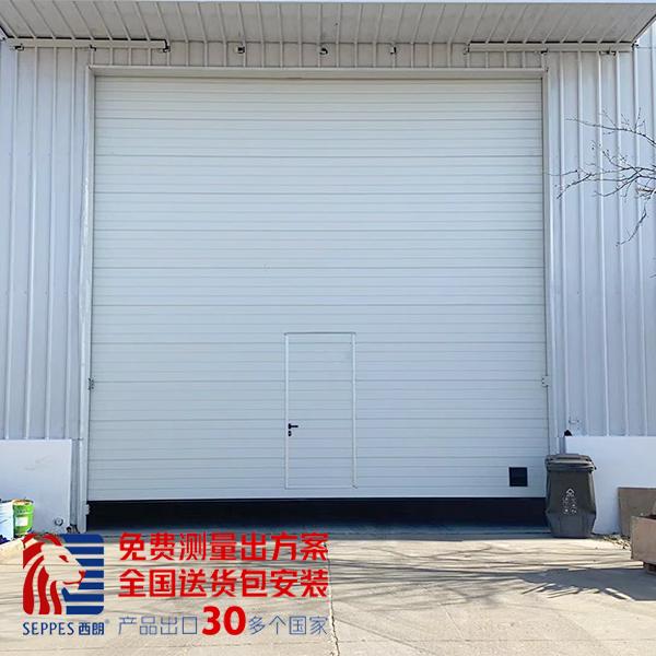 上海噪音隔离工业提升门