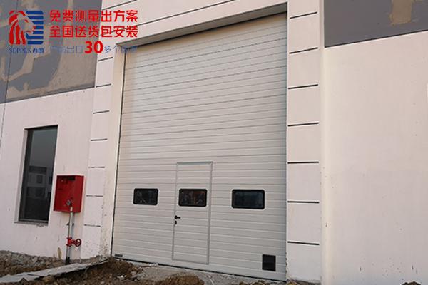 上海印刷厂快速工业提升门