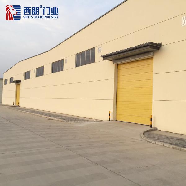上海汽车装饰厂房工业提升门