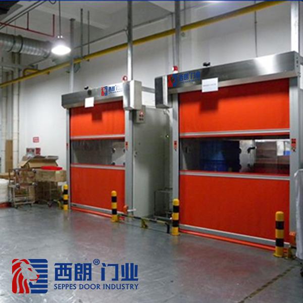 上海包装车间不锈钢快速卷帘门