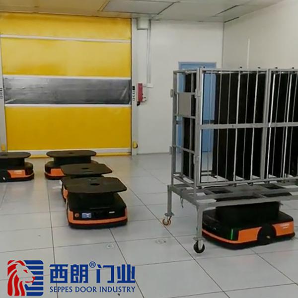 上海感应AGV小车快速门