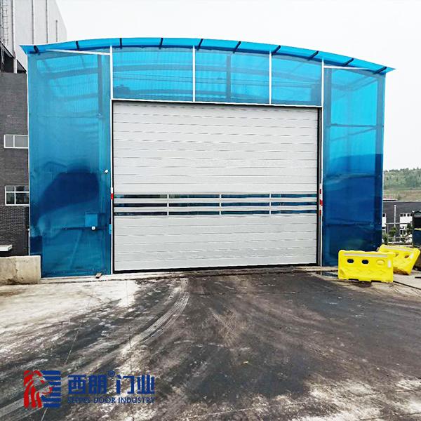 上海大型工厂铝合金涡轮快速卷帘门