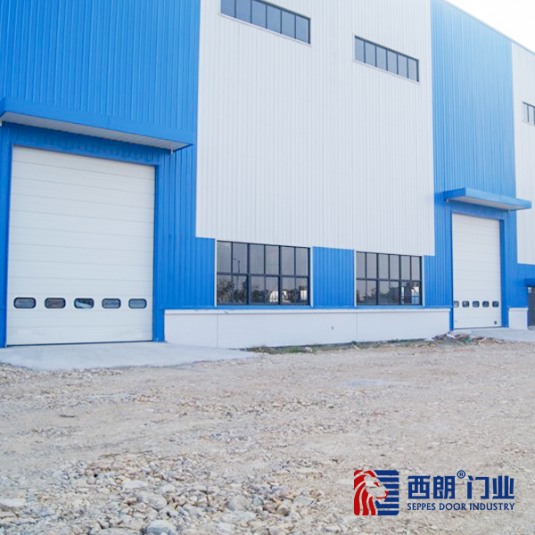 嘉兴化工厂房工业提升门