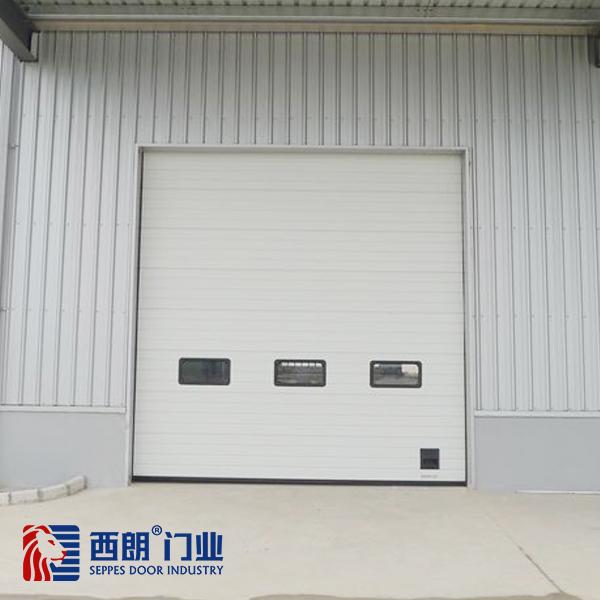 台州生鲜冷藏厂房工业提升门
