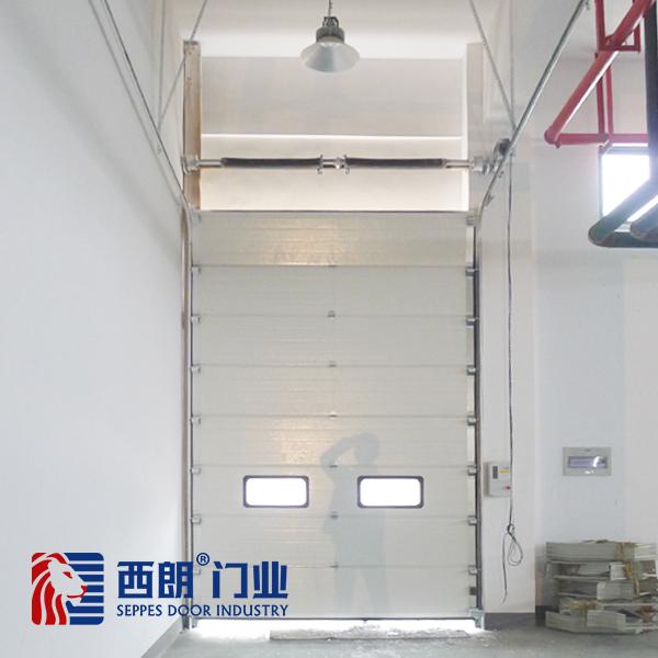 上海变频升降式工业提升门