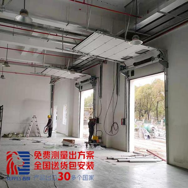 上海食品厂工业提升门