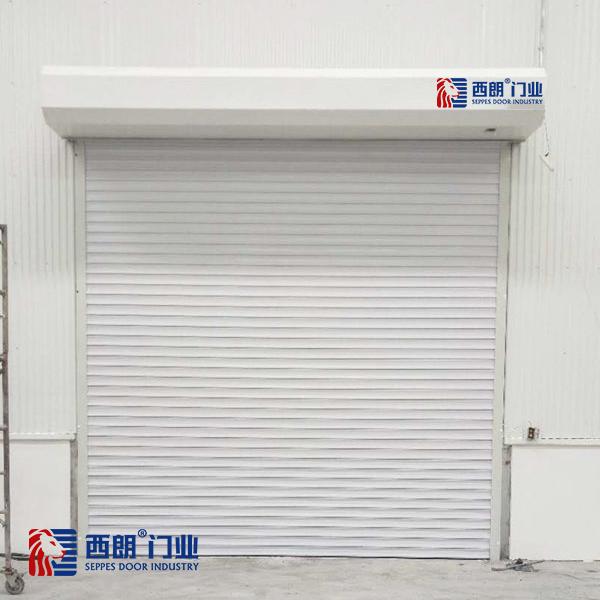上海保税区铝合金电动卷帘门