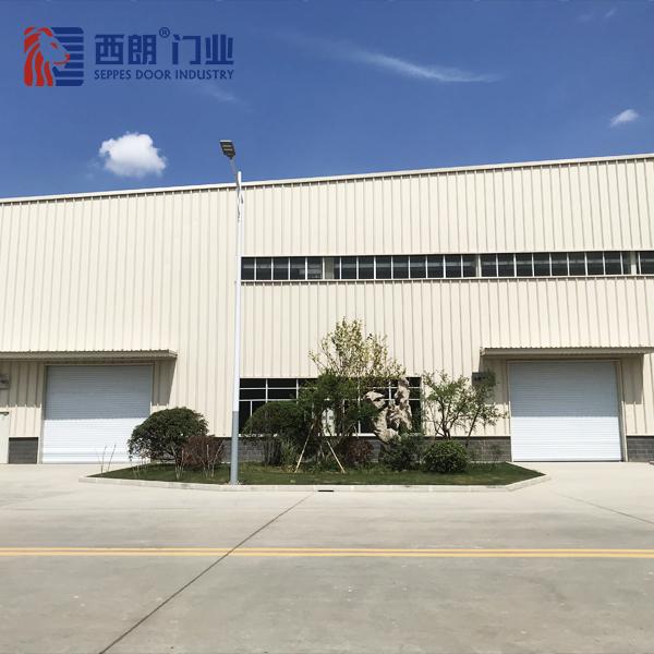 松江汽车生产厂房垂直工业提升门