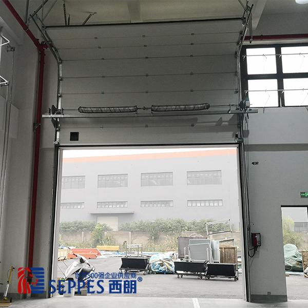 崇明现代厂房垂直上下电动提升门