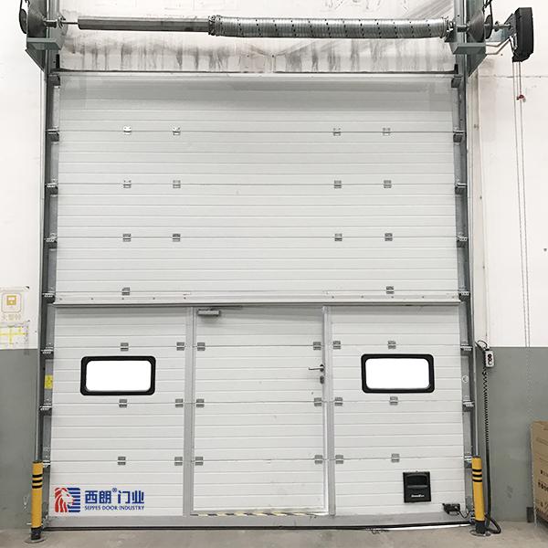 温州仓储物流分段式电动工业提升门