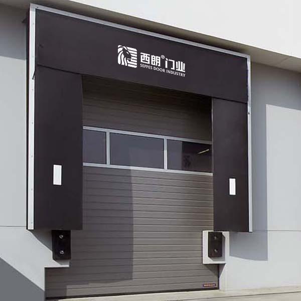 上海家具厂卸货口密封机械式组合门封门罩