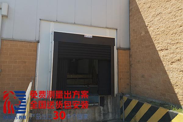 生鲜冷藏仓库充气式门封.jpg